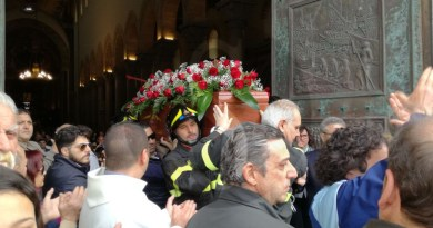 #Messina. Celebrati al Duomo i funerali di Mauro Amendolia FOTO