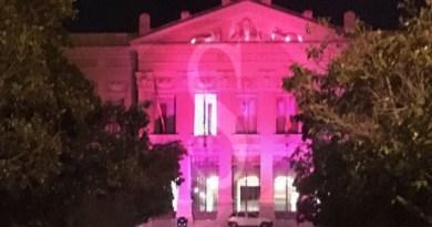 #Messina. Giro d'Italia 2017: Palazzo Zanca illuminato di rosa