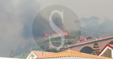 #Cronaca. La costa tirrenica messinese devastata dagli incendi