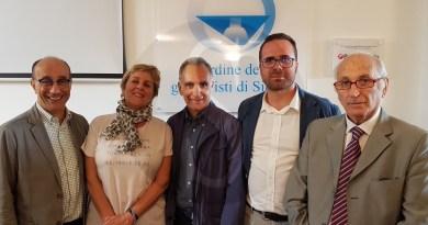 Attualità. Giulio Francese eletto presidente dell'Ordine dei giornalisti di Sicilia