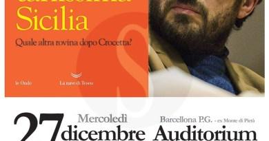 """Libri. All'Auditorium Oasi di Barcellona presentazione di """"Strabuttanissima Sicilia"""" di Buttafuoco"""