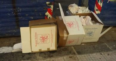 Cronaca. Amministrative 2018 Messina, scoperte urne abbandonate nei pressi di via Palermo