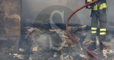 Cronaca. Messina, ancora un incendio in via Don Blasco