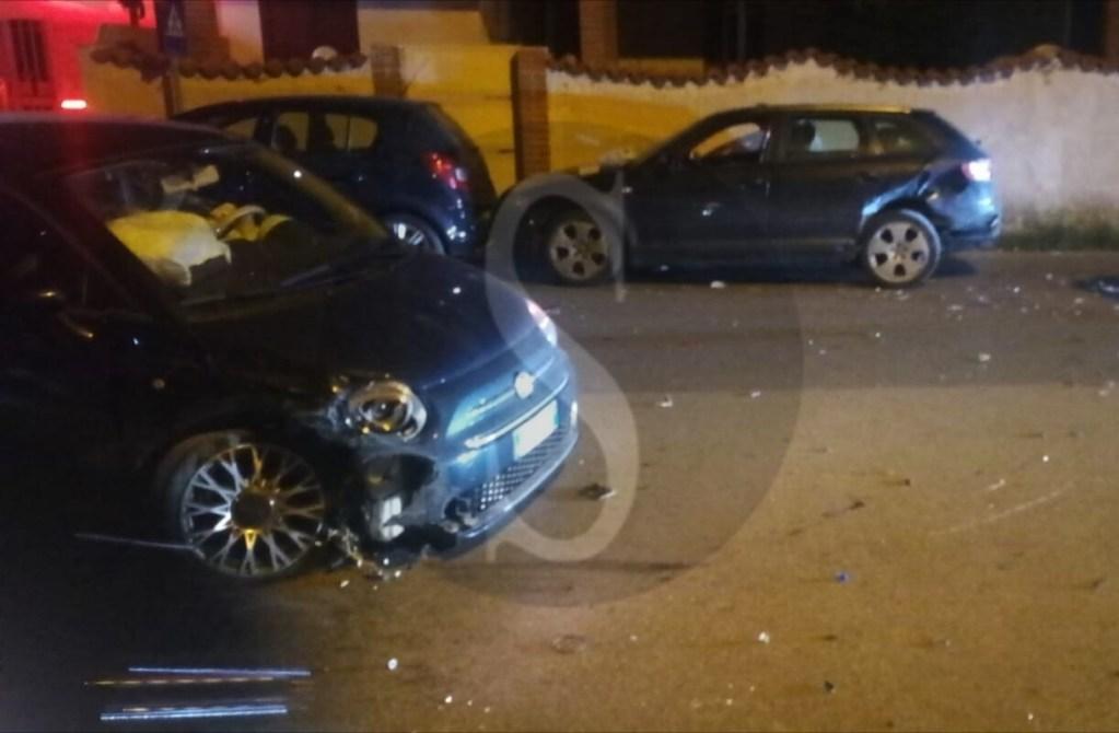 Cronaca. Milazzo, Fiat 500 sbanda a Ponente e tampona due auto in sosta: tre i feriti