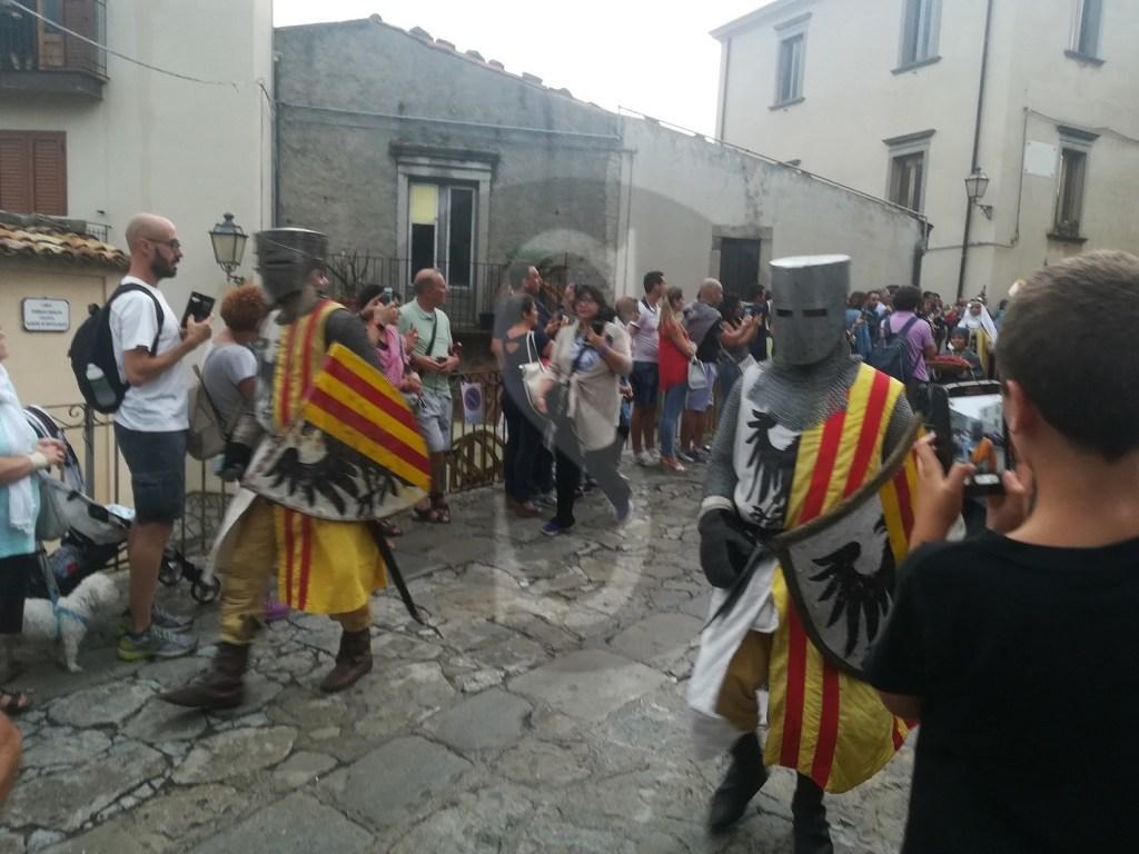 Folklore. Federico III il Grande, corteo storico a Montalbano Elicona