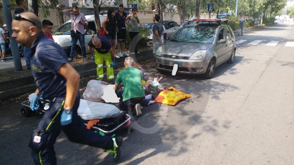 Cronaca. Messina, incidente in via Catania: auto investe un pedone