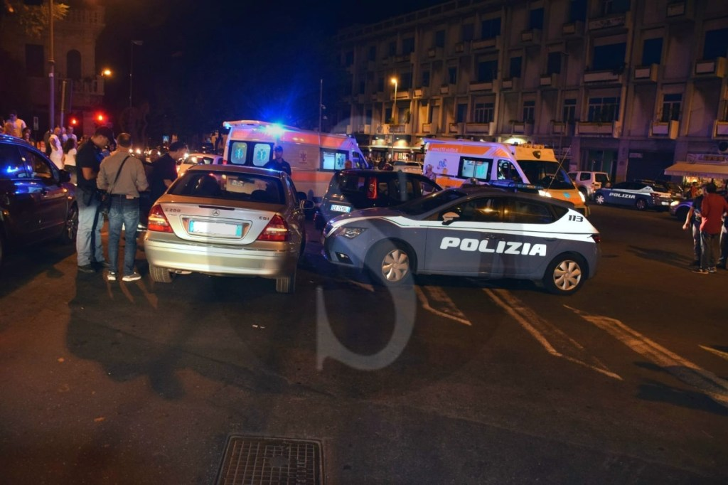 Cronaca. Messina, Volante investe due auto durante inseguimento: 3 feriti