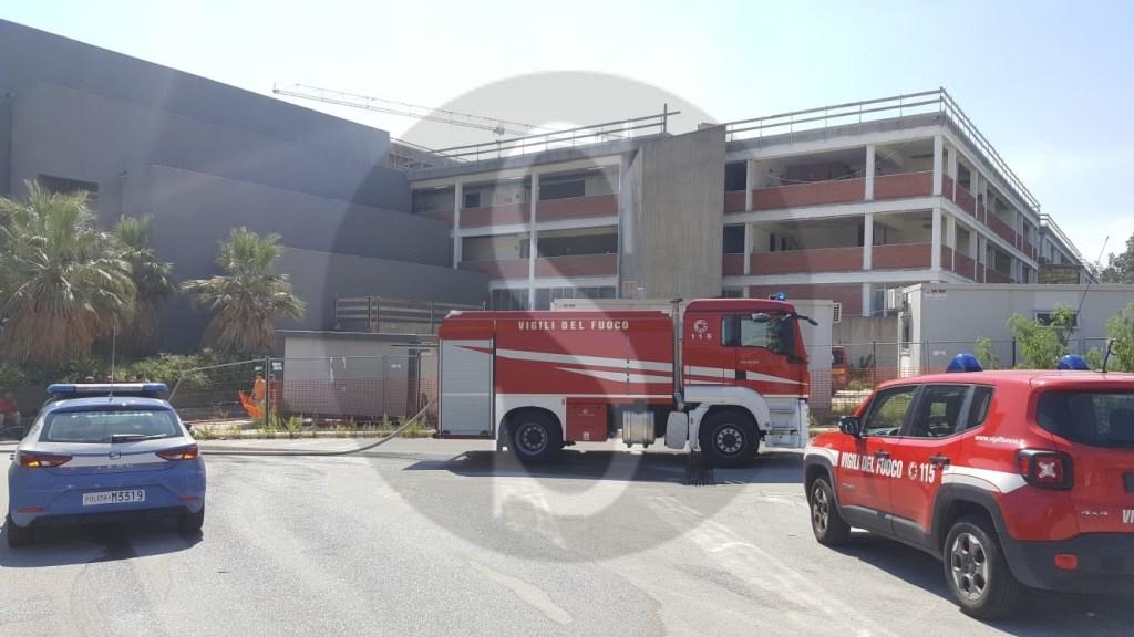 Cronaca. Fumo e fiamme alla facoltà di Scienze dell'Università di Messina