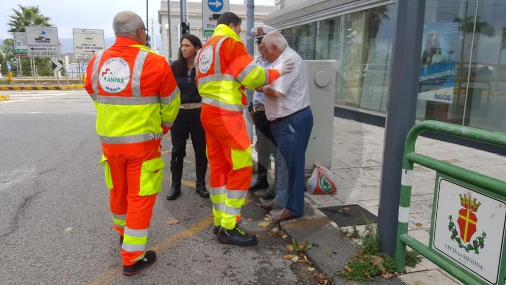 Cronaca. Messina, manto stradale dissestato: incidente ad anziano in viale Boccetta