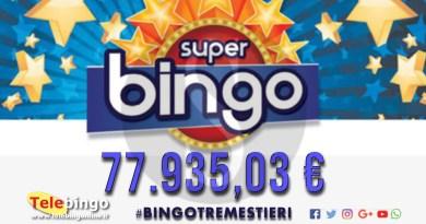 Attualità. Messina, Superbingo da 78.000 al bingo di Tremestieri