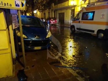 Cronaca. Violentissimo incidente a Barcellona PG: feriti i due conducenti