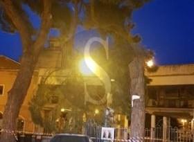 Barcellona PG, raffiche di vento spezzano un grosso ramo a piazza San Sebastiano