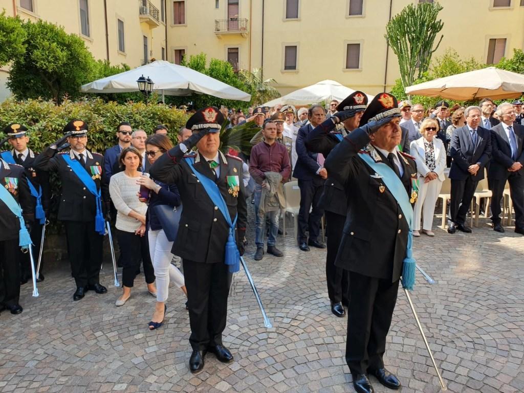 Messina, celebrato il 205° anniversario della Fondazione dell'Arma dei Carabinieri