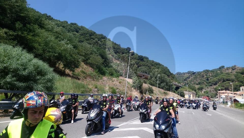 Un successo a Barcellona PG la terza tappa del raduno T-Max