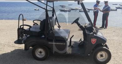 Botte e poi aggrediscono carabiniere, due giovani arrestati a Panarea