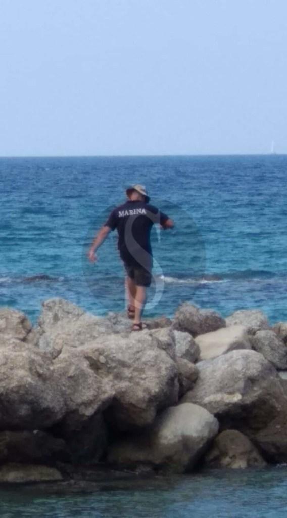 Evacuata la spiaggia di Falcone per un presunto ordigno bellico in mare