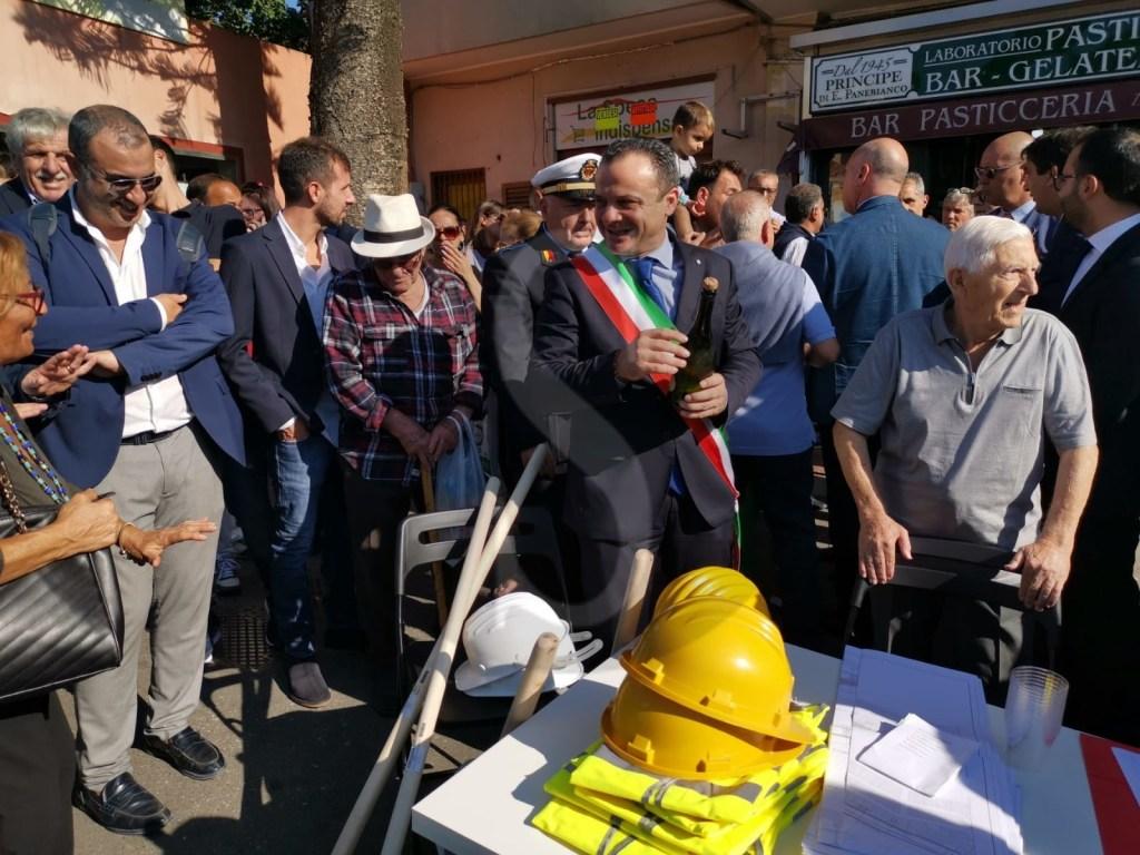 Sbloccata la copertura del torrente Catarratti-Bisconte: Musumeci a Messina per la consegna dei lavori
