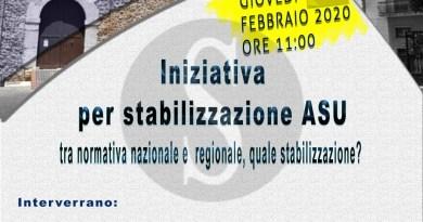 Stabilizzazione ASU Nebrodi, la CSA chiama a rapporto i parlamentari regionali