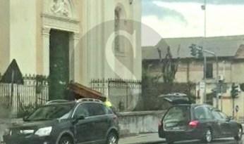 Coronavirus Messina, rito funebre nella chiesa dei santi Pietro e Paolo in via La Farina