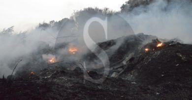 Torna la paura a Spadafora: da stamane un nuovo incendio sta bruciando la collina