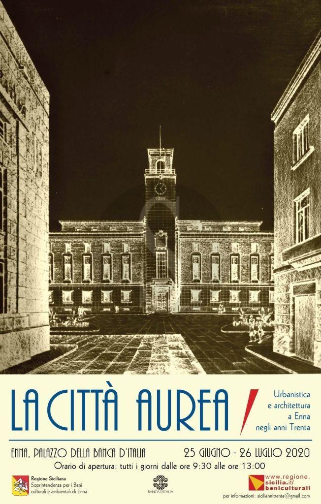 """Enna tra le due guerre, al via oggi la mostra su architettura e urbanistica della """"città aurea"""""""