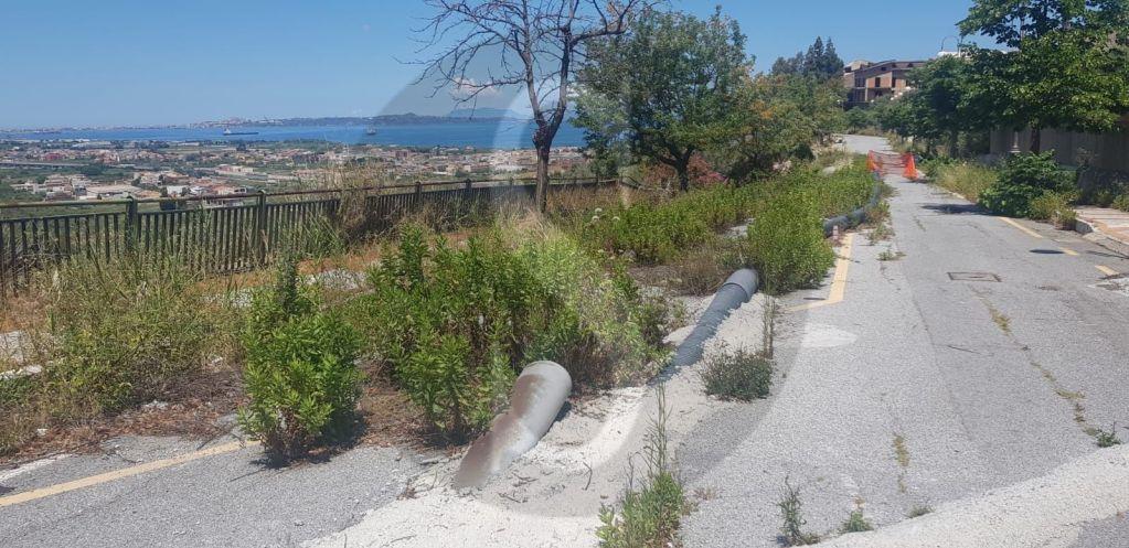 Dissesto idrogeologico a Valdina, al via i lavori di messa in sicurezza di contrada Tracoccia