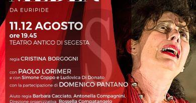"""Teatro antico di Segesta, domani prima nazionale per la """"Medea"""" di Cristina Borgogni"""
