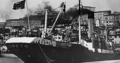 Isola delle Femmine, nel 78°anniversario dell'affondamento del piroscafo Loreto BC Sicilia ricorda le vittime