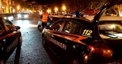Sabato sera a Milazzo, controlli dei Carabinieri: controllate 150 persone e 69 auto, 7 denunciati