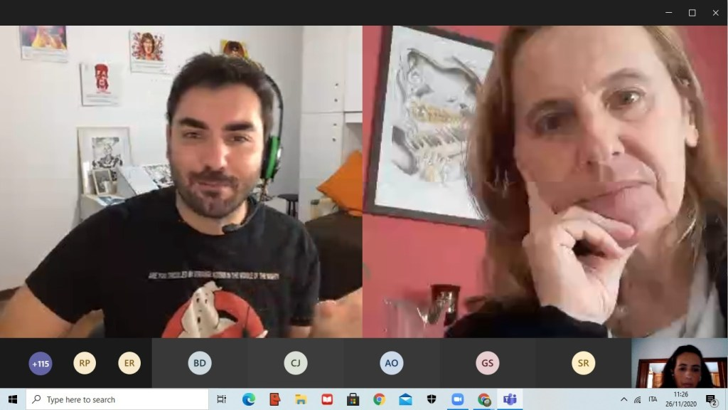 Messina, emozioni&fumetti: le terze della media Manzoni incontrano Lelio Bonaccorso