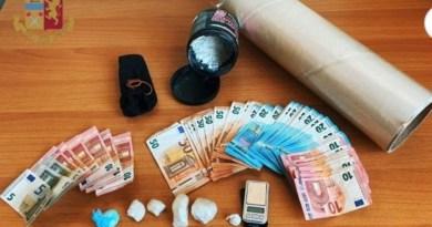 Deteneva 50 grammi di cocaina nascosti in un calzino, arrestato 27enne Messinese