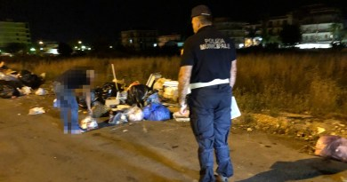 Barcellona PG – Smaltimento illecito di rifiuti: sabato sera di controlli della polizia municipale