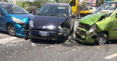 Milazzo – Incidente nella zona di Archi, quattro i feriti