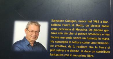 """""""Il secondo prescelto"""", tra fantascienza e sentimenti il nuovo libro del barcellonese Salvatore Cutugno"""