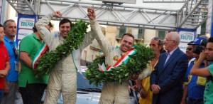 Roberto Lombardo Alessio Spiteri vittoriosi al Rally di Caltanissetta