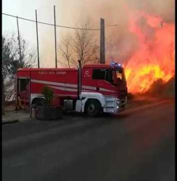 incendio Enna