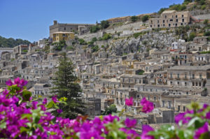 The baroque town of Modica