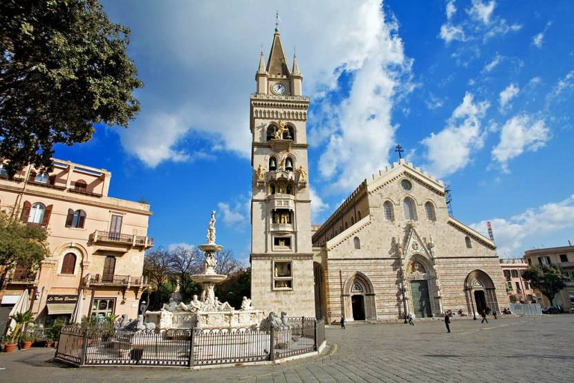 The Cathedral of Messina is in Piazza Duomo, Although it was reconstructed after the 1908 earthquake and 1943 bombings, It was built by Henry VI..
