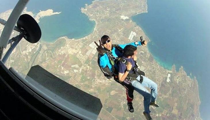 Paracadutismo Sicilia Siracusa esperienza di lancio in