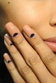 biker chic makeup and nail