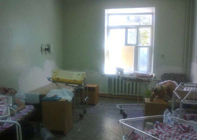 These Photographs Of An Actual Russian Hospital Will Make