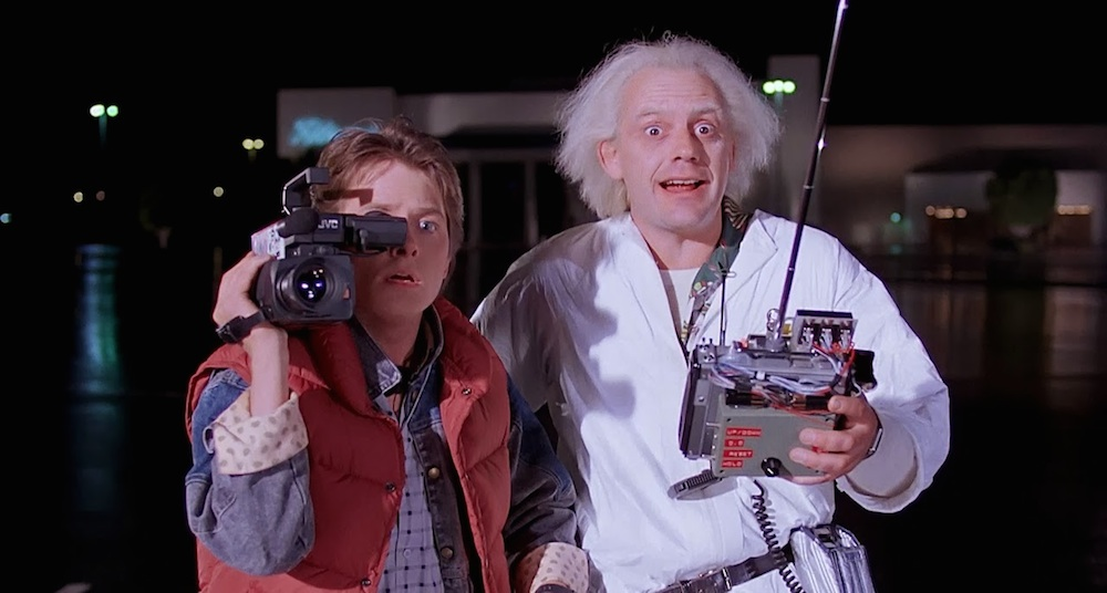 Image result for back to the future scene