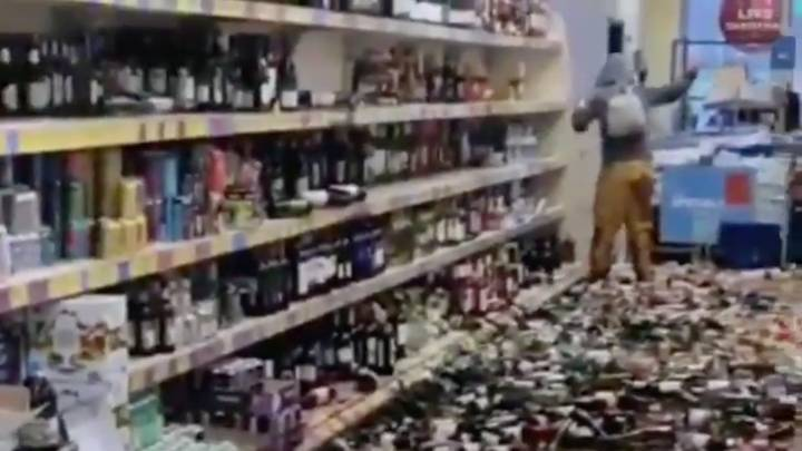 A Shopper Smashed Hundred Of Bottles Of Alcohol In An Aldi – Sick Chirpse