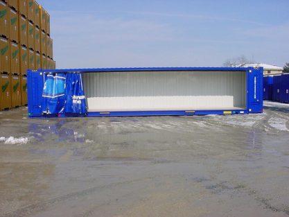 Casse furgonate e telonate 1360 m  45ft  Sicom Container