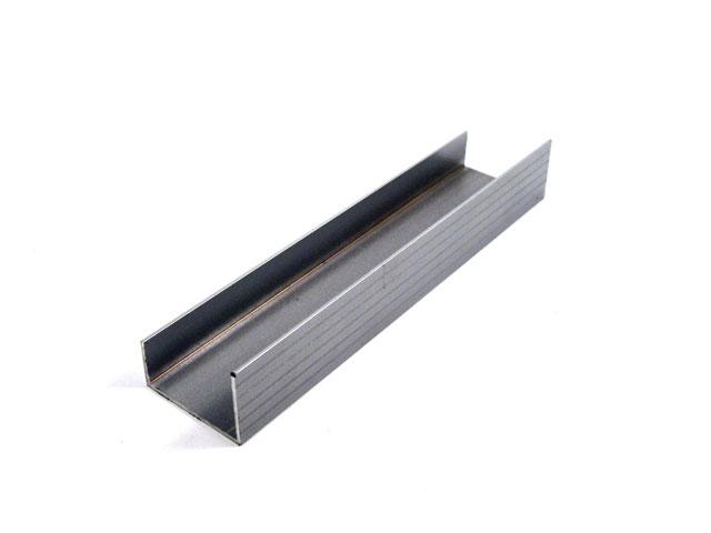 Perfiles de aluminio panel superior fijo