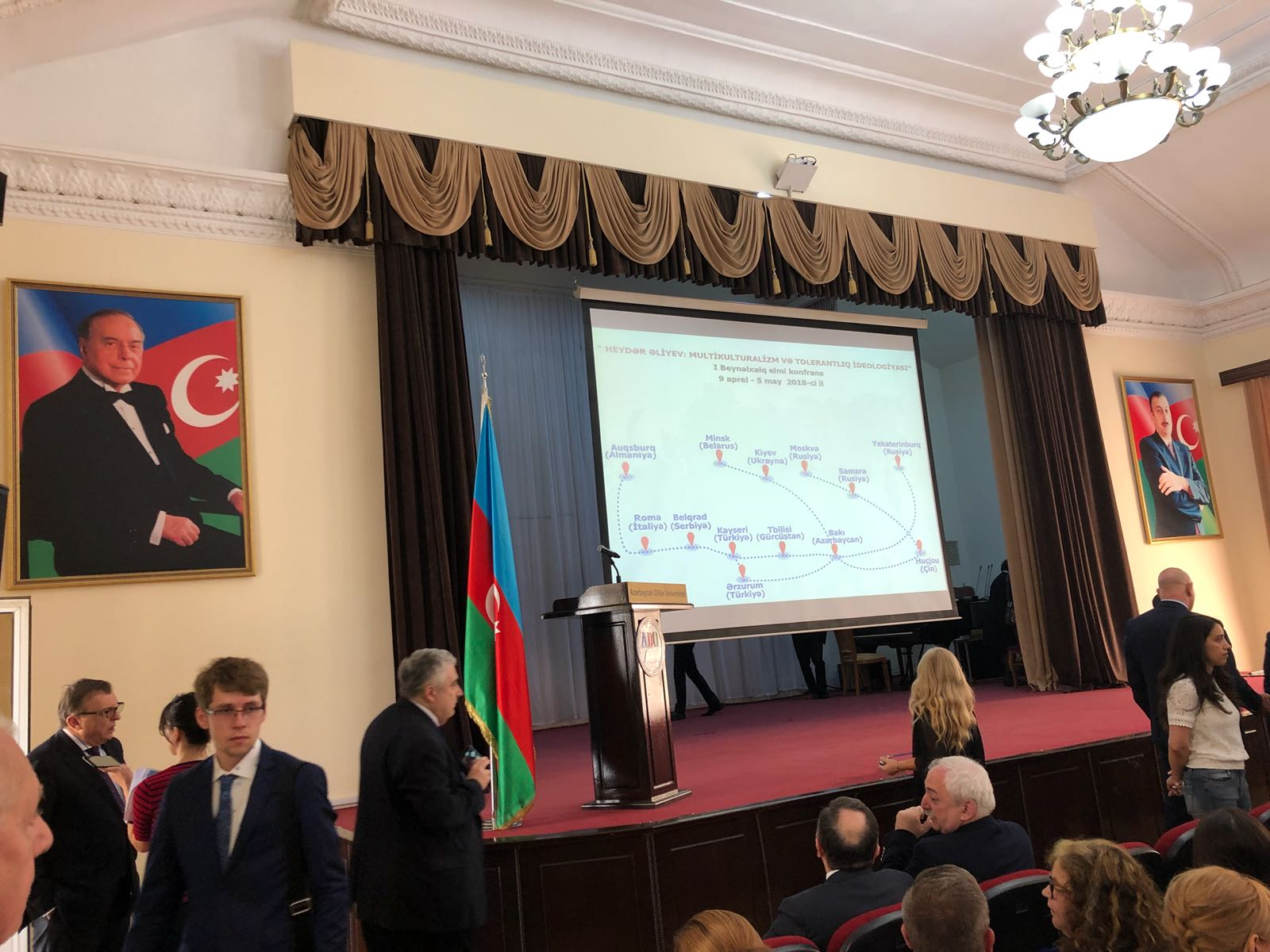 Conferenza Azerbaijan University of Languages