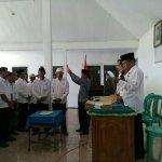 Pelantikan Ketua RT dan Ketua RW Masa Bhakti 2017-2022 dan Musyawarah Desa