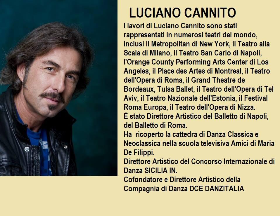 Presentazione LUCIANO CANNITO