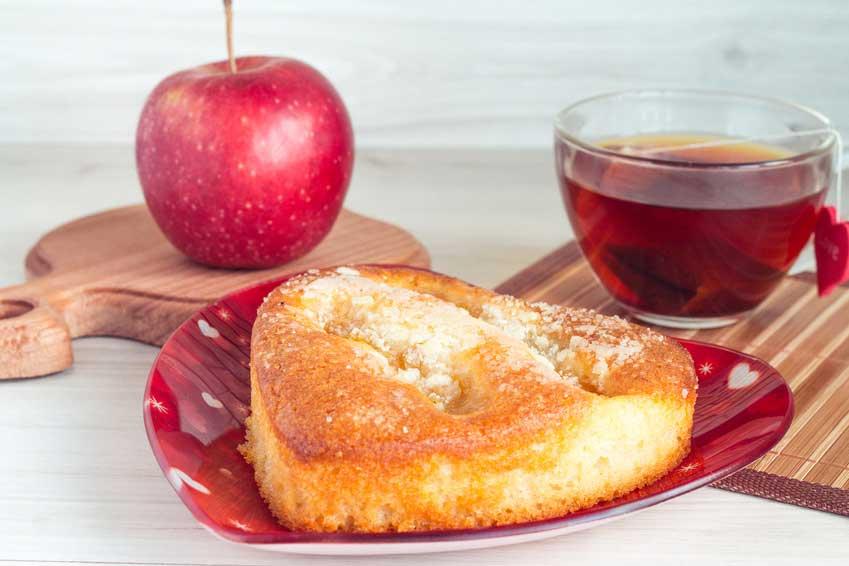 Apfelkuchen für Backfaule