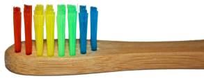 Bambuszahnbürste SIDCO Rainbow